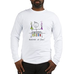 Science is fun! Long Sleeve T-Shirt