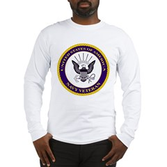 Navy Veteran Long Sleeve T-Shirt