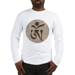TibetanOm1Bk Long Sleeve T-Shirt
