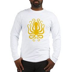 Octapus 8 Big Long Sleeve T-Shirt