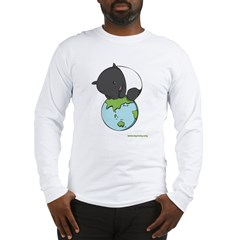: 'Tapir on World' Long Sleeve T-Shirt