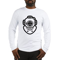 Diving Helme Long Sleeve T-Shirt