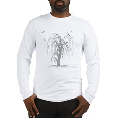 creepy tree Long Sleeve T-Shirt