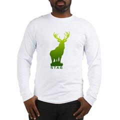 DEER STAG GRAPHIC Long Sleeve T-Shirt