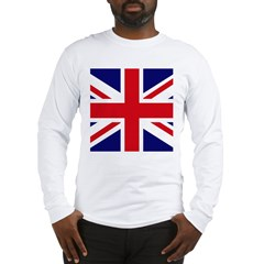 British Flag Union Jack Long Sleeve T-Shirt