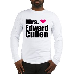 Mrs. Edward Cullen Long Sleeve T-Shirt