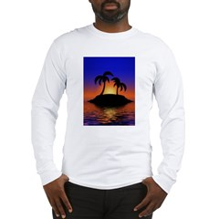 sunrise-sunset--palm-tree-s.jpg Long Sleeve T-Shirt