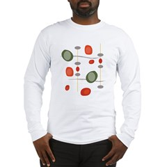 NeoJazz Vermilion Art-Tee Long Sleeve T-Shirt