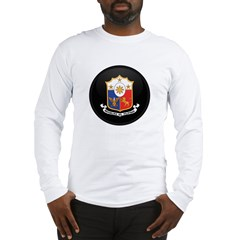Coat of Arms of philippines Long Sleeve T-Shirt