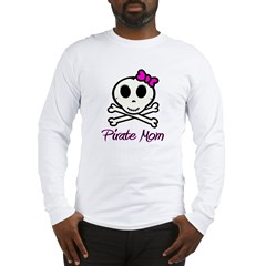 Pirate Mom Long Sleeve T-Shirt