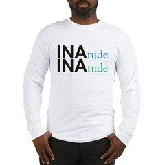 inatude logo for print Long Sleeve T-Shirt