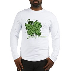 grunge_hops_dark Long Sleeve T-Shirt