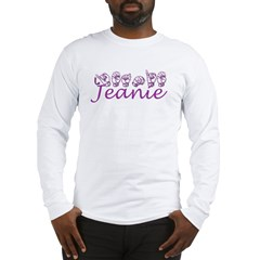 Jeanie Long Sleeve T-Shirt