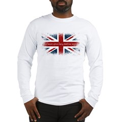 british_dark Long Sleeve T-Shirt