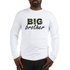 Big brother camo Long Sleeve T-Shirt