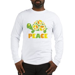 PeaceTurtle3 Long Sleeve T-Shirt
