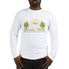 Forks, WA Vintage Long Sleeve T-Shirt