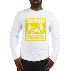 Protecting and Serving Long Sleeve T-Shirt