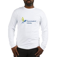 Hummingbird Logo Lettering.jpg Long Sleeve T-Shirt