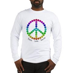 Peace.Love.Soccer Long Sleeve T-Shirt