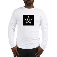 Wiccan Pentagram Long Sleeve T-Shirt