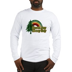 Earth Day Every Day Retro Long Sleeve T-Shirt