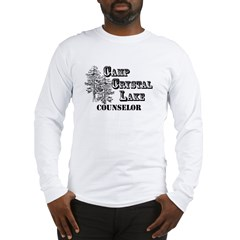 Camp Crystal Lake Counselor - Long Sleeve T-Shirt