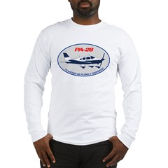 Id Rather be Flying a Cherokee! Long Sleeve T-Shirt