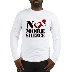 No More Silence Long Sleeve T-Shirt