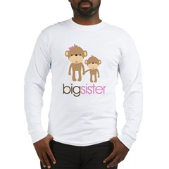 monkey big sister Long Sleeve T-Shirt
