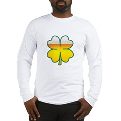 Beer Leaf Clover St. Patrick's Day Long Sleeve T-Shirt
