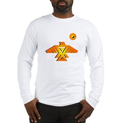 Anishinaabe tribal symbol Long Sleeve T-Shirt