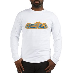 Suns out guns out -- Men Long Sleeve T-Shirt