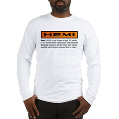 HEMI definition Long Sleeve T-Shirt