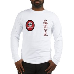 Front & back logo Goju Ryo Long Sleeve T-Shirt