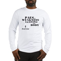 Exercise Long Sleeve T-Shirt