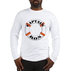 Captain Ron Long Sleeve T-Shirt