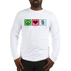 Peace Love CSI: Miami Long Sleeve T-Shirt