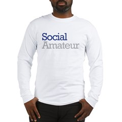 Social Amateur Pride Long Sleeve T-Shirt