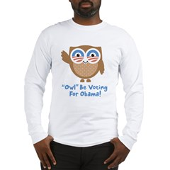 Obama Owl Long Sleeve T-Shirt
