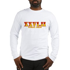 xxviii marine marathon Long Sleeve T-Shirt