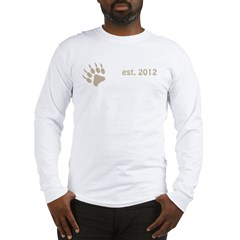 papa bear claw 2012_dark Long Sleeve T-Shirt