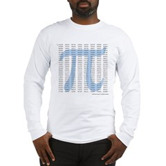 Pi to 1001 Digits Long Sleeve T-Shirt