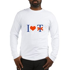 I Love T-Bow - Long Sleeve T-Shirt