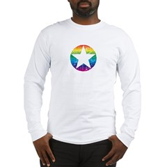 Rainbow Star Long Sleeve T-Shirt