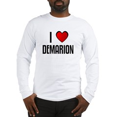 I LOVE DEMARION Long Sleeve T-Shirt