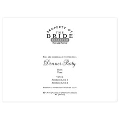 Property Bride Forever 5.5 x 7.5 Flat Cards