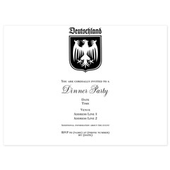Germany Soccer - 5.5 x 7.5 Flat Cards