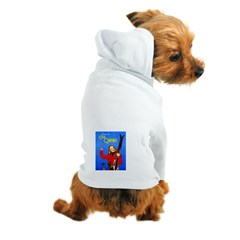 Quebec Travel Poster 1 Dog Hoodie