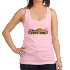 Suns out guns out -- Men Racerback Tank Top